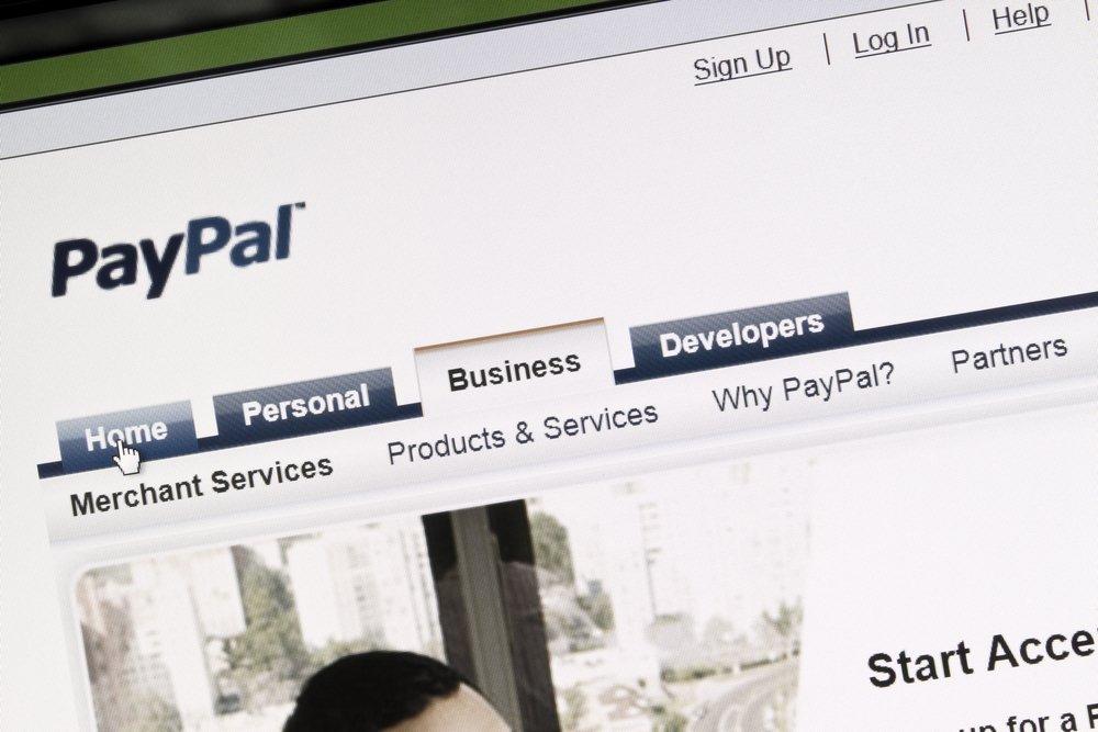 Создание счета в Paypal