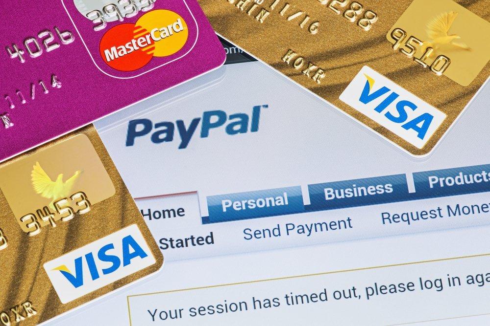 Способы пополнения баланса Paypal
