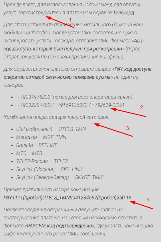 Как пополнить баланс телефона через карту газпромбанка по СМС